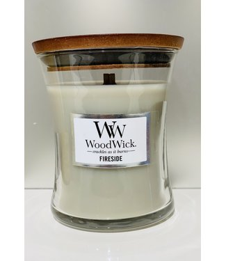 Wood Wick Candle - Fireside