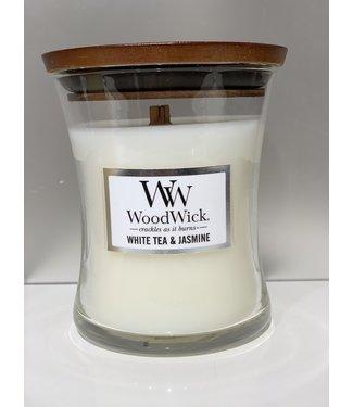 Wood Wick Candle - White Tea & Jasmine