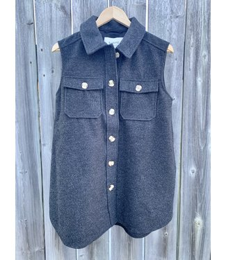 B. Young Tunic Vest -Charcoal