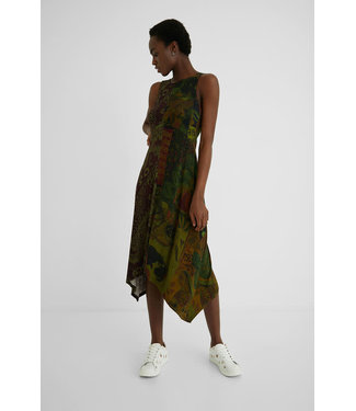Desigual Nise Dress - Khaki
