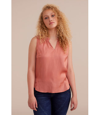 Cream Cecilie Top - Shimmery Blush