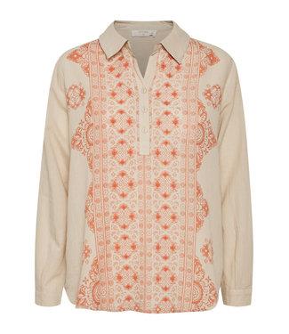 Cream Jytte Shirt - Natural