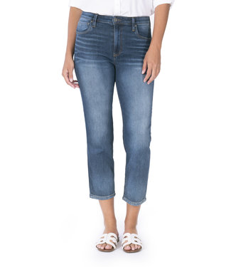 KUT Jeans Elizabeth High Rise Crop Straight Leg