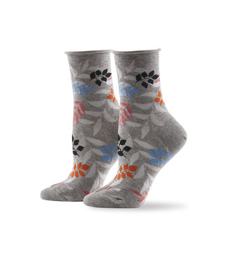 Hue Jean Socks - Grey