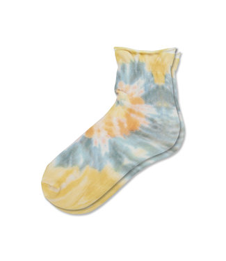 Hue Tie Dye Socks - Lemon
