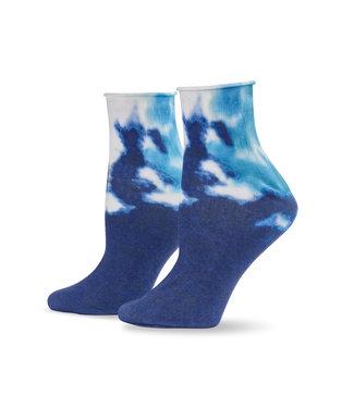 Hue Tie Dye Socks - Navy