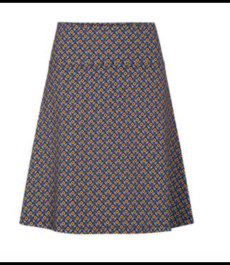 Zilch A Line Mosaic Skirt