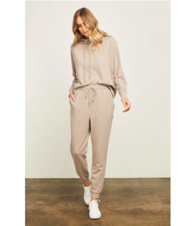 Gentle Fawn Lounge Pants - Heather Brown