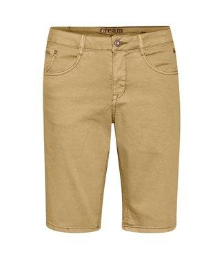 Cream Coco Fit Shorts - Tannin