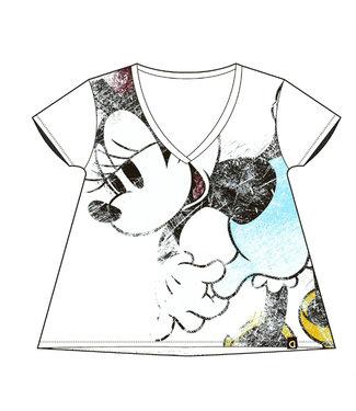 Desigual Minnie Mouse T-Shirt - White