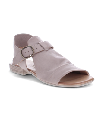 Bueno AVA Leather Sandals - Grey