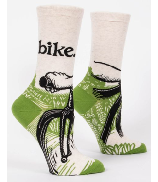 Blue Q Bike Path Socks