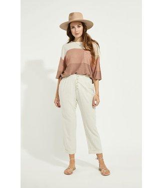 Gentle Fawn Rally Linen Pants - Cream
