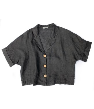 Pure Venice Black Tunic Shirt