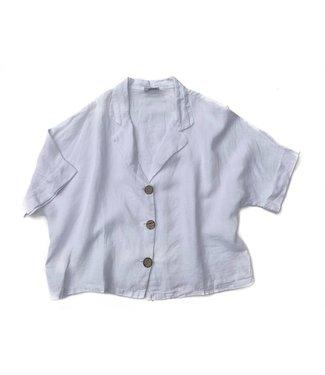 Pure Venice White Short Cardigan **