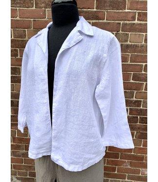 Click Linen Open Jacket **