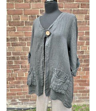 Beyond Capri Beyond Capri Jacket Grey - One Size **