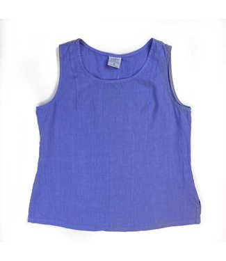 Linen Tank Top - Violet **