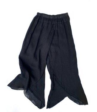 Click Linen Pants - Black