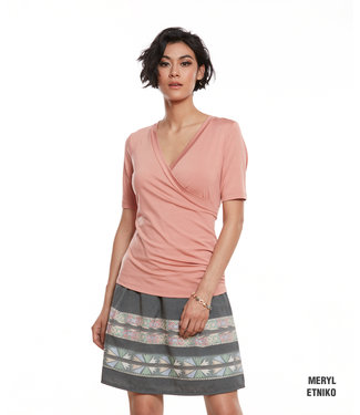 Luc Fontaine Etniko Skirt - Grey