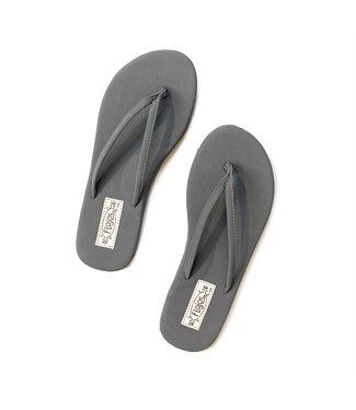 Fiesta Flip Flops - Charcoal