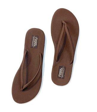 Fiesta Flip Flops - Brown