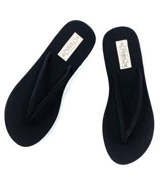Fiesta Flip Flops - Black