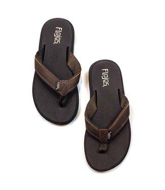 Colette II Latigo Flip Flops - Brown