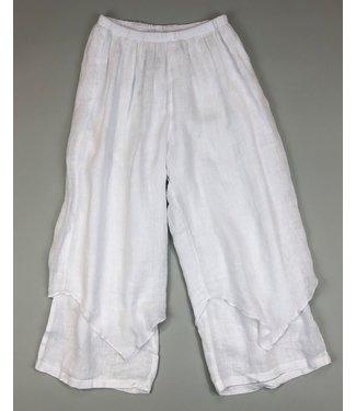 Click Harlequin Crop Pant - White **