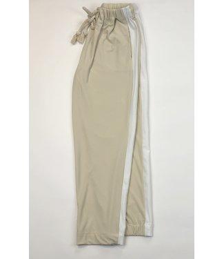 Point Zero Side Stripe Pant - Almond