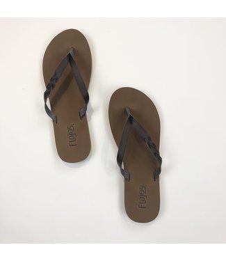 Serenity Flip Flops - Brown