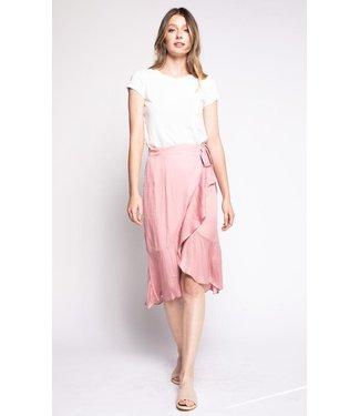 Pink Martini Romantic Skirt - Pink