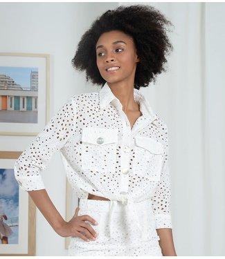 Molly Bracken English Lace Shirt - White