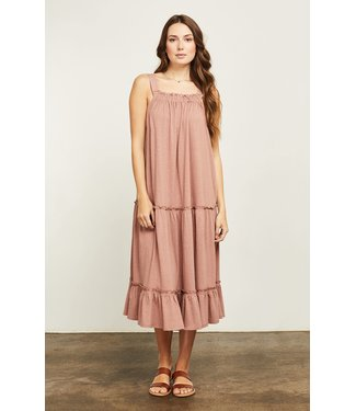 Gentle Fawn Tiered Dress - Clay