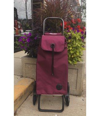 Rolser Shopping Cart - Burgundy - Stairclimber