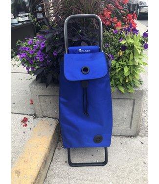 Rolser Foldable Shopping Cart - Blue