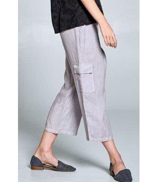 Focus Linen Crop Pants