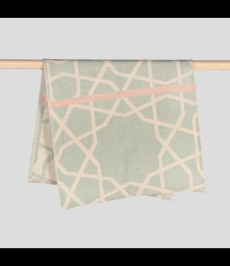 Pokoloko Turkish Hand Towel - Mosaic - Jade