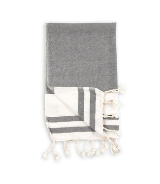 Pokoloko Turkish Hand Towel - Classic - Black