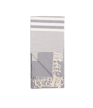 Pokoloko Turkish Towel - Harem - Slate