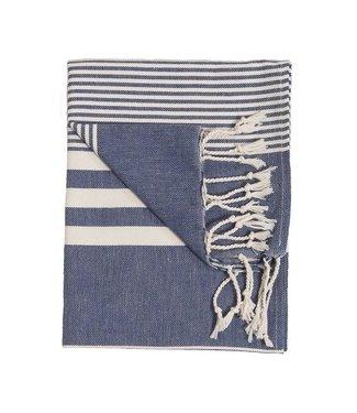 Pokoloko Turkish Hand Towel - Harem - Denim