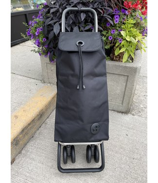 Rolser Shopping Cart - 4 Wheels - Black