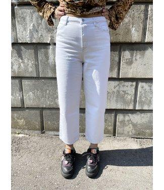 Esprit Culotte Denim Organic - White