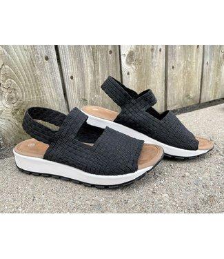 Bernie Mev Tara Bay Shoe - Black