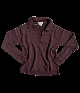 Mododoc Collared Sweatshirt - Hickory Smoke