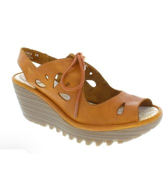 Fly London Fly London Sandals - Brown Leather - size 41