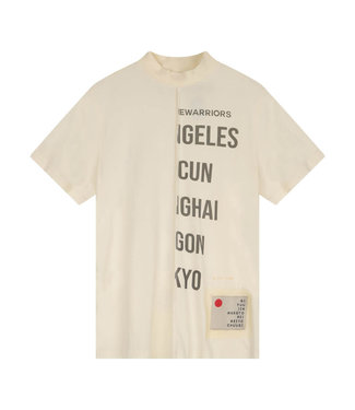 Once We Were Warriors Susume Tee - Antique White