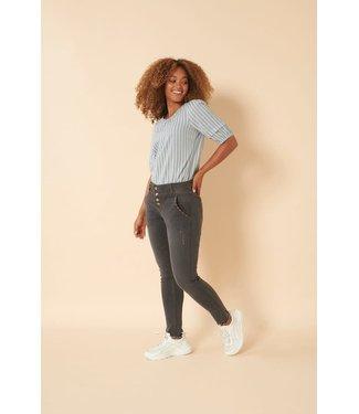 Cream Berete Jeans Baily Fit - Black