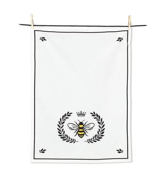 Abbott Bee in Crest Tea Towel