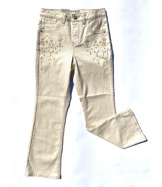 Cream Jada Jeans Shape Fit - Cream
